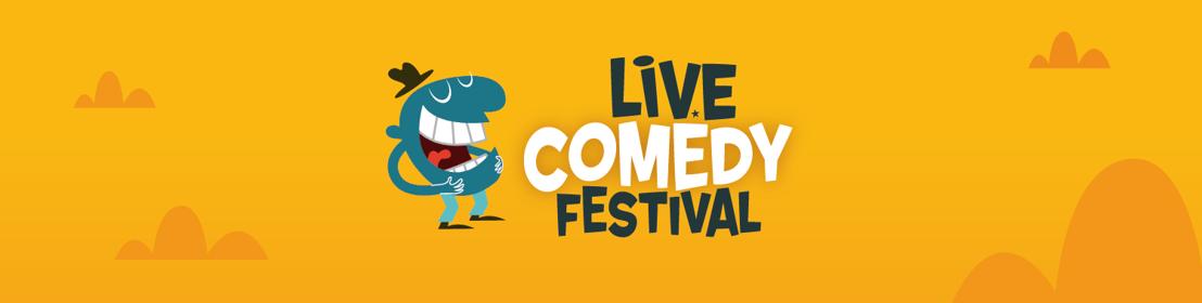 Kamal Kharmach, Lukas Lelie en special guest live op Live Comedy Festival 2016