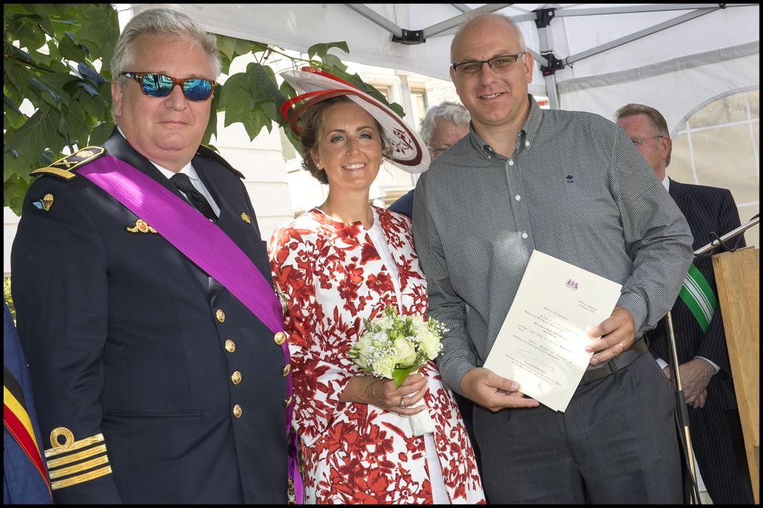 Koninklijke vzw Judoclub uit Lokeren, voorzitter Geert Pets