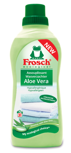 Nouvel adoucissant Frosch à l'aloe vera : bon pour votre peau et pour la planète !