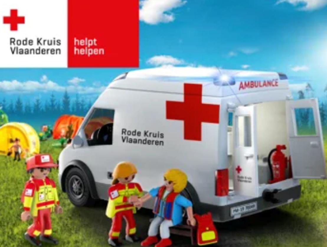 Rode Kruis trapt vandaag stickerverkoop af