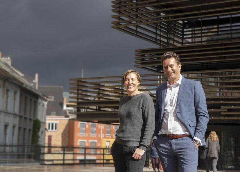 Mathieu Van Marcke, General Director & Catherine de Greef, Creative Director Realty