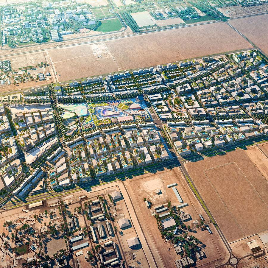 Aljada Residential City - University City - Sharjah - ARADA