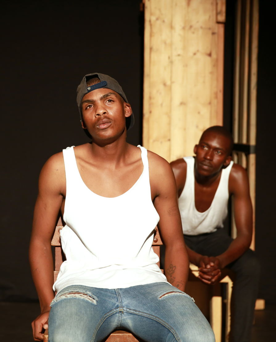 Ubuze Bam with Eric Menyo and Ntsika Tyalana - credit Nardus Engelbrecht Cape Town Fringe 2016