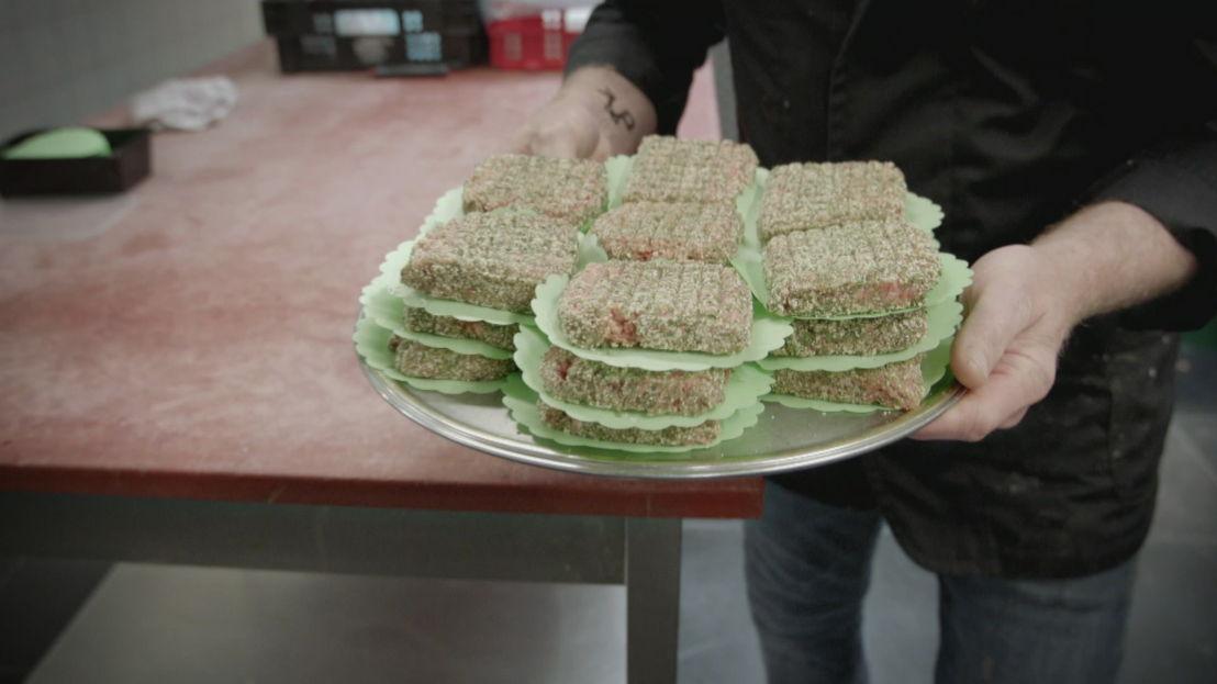 De weg van...een lamsburger<br/>Over eten (c) VRT