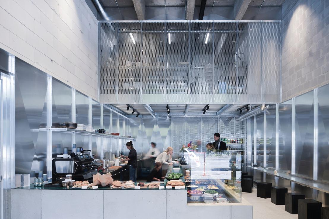Krachtvoer voor work/life bij nieuwe kantoordeli 'Midori' in Antwerpen