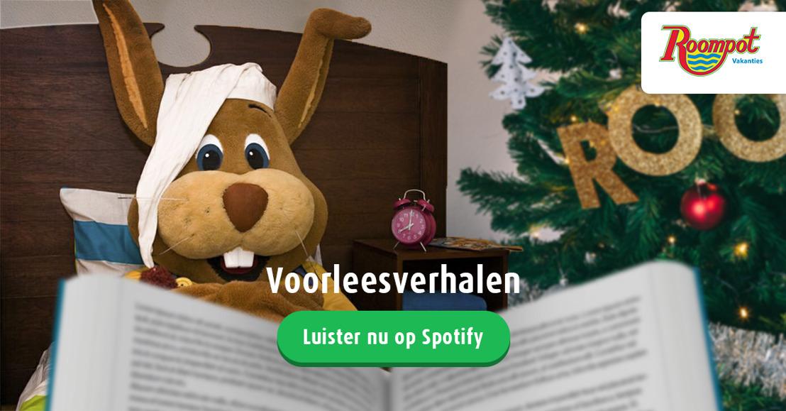 Roompot mascotte Koos Konijn heeft nu eigen voorleesverhalen op Spotify