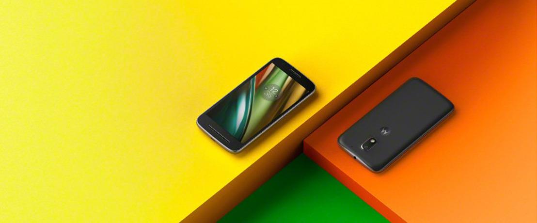 Lenovo lanceert de vernieuwde Moto E en Moto G Play, budgetvriendelijke smartphones voor de meerwaardezoeker