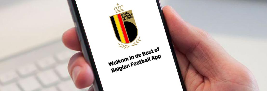 KBVB, Voetbal Vlaanderen en ACFF laten fans elke speler digitaal op de voet volgen