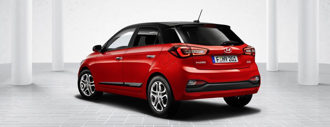 De New Hyundai i20: slimmer, veiliger en met opgefrist design