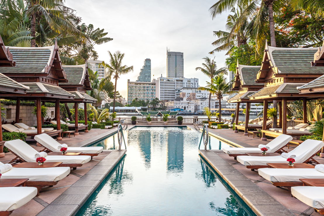 The Peninsula Bangkok, Pool