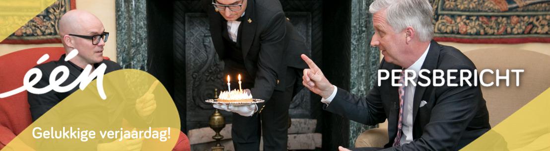 Philippe Geubels en Koning Filip vieren samen een onvergetelijke verjaardag