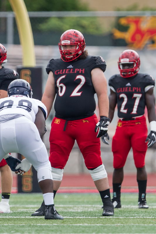 No 13 LO Andrew Pickett Guelph (Photo : Kyle Rodriguez/University of Guelph)