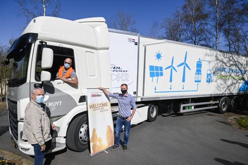 Colruyt Group et AB InBev s'associent pour développer le marché belge des camions à pile à combustible fonctionnant à l'hydrogèn