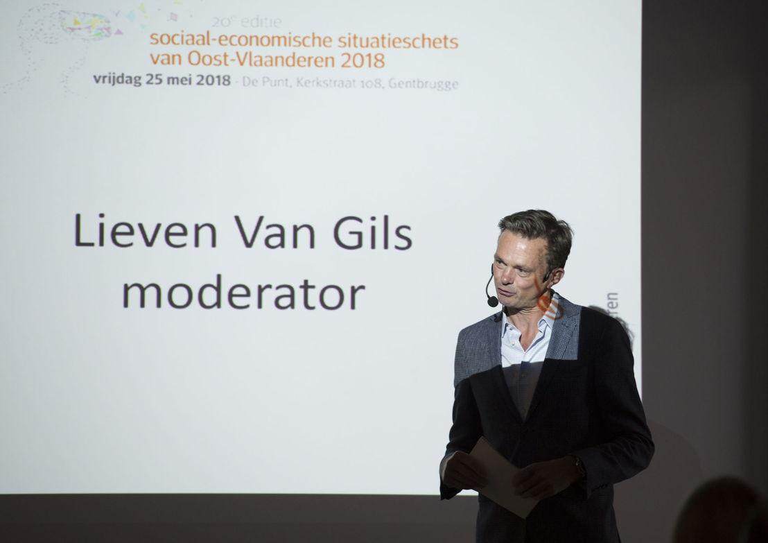 Moderator Lieven Van Gils