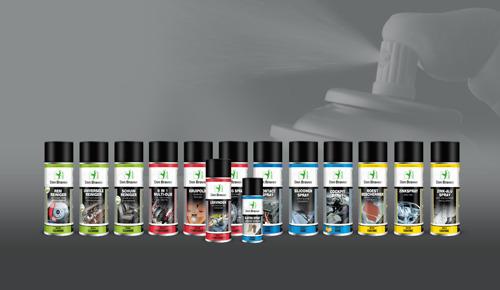Vernieuwde productlijn Zwaluw Technische Sprays