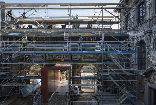 Restauratie portiek Rubenshuis vanaf 4 februari in laatste en cruciale fase