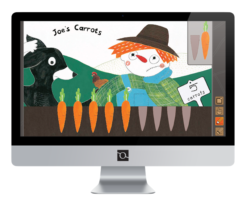 Big Book Teaching brings mat concepts to life with interactive features including games and songs for each title