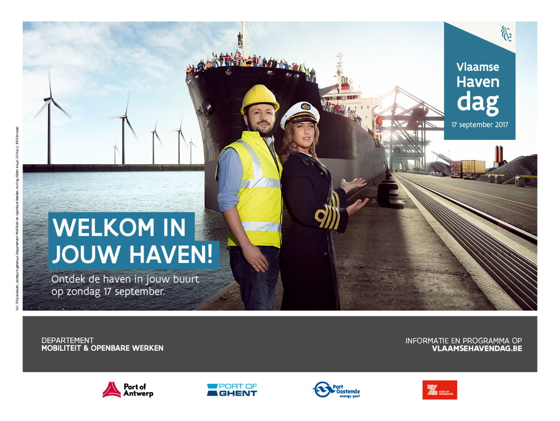 Campagne Vlaamse Havendag par The Oval Office