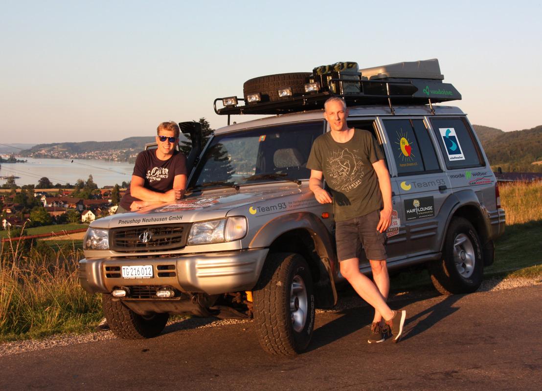 Zwei Thurgauer fahren im Hyundai Galloper die Balkan Express Rallye – für einen guten Zweck.