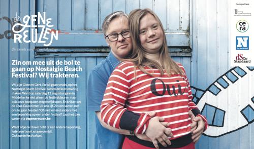 Hart voor Handicap en TBWA tekenen voor een wereld waar iedereen er gewoon bijhoort