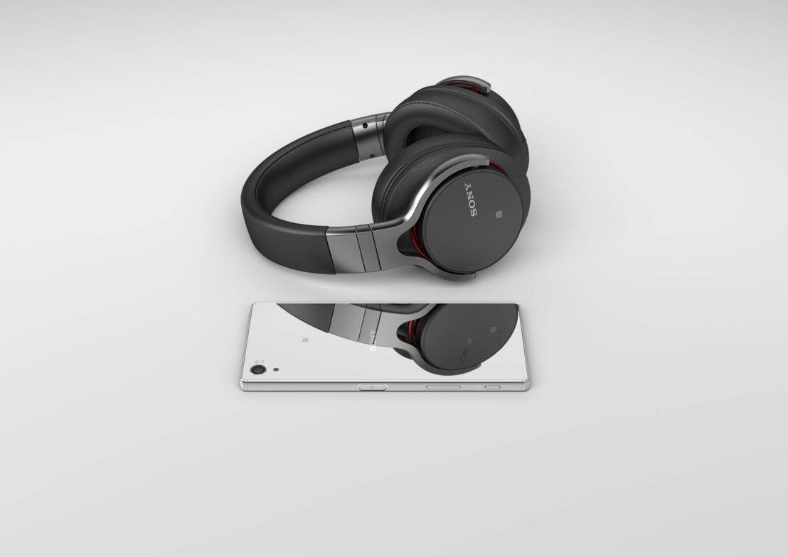 Z5 Premium Headphones Chrome