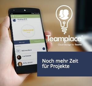 Teamplace gibt spontanen Projekten mehr Zeit