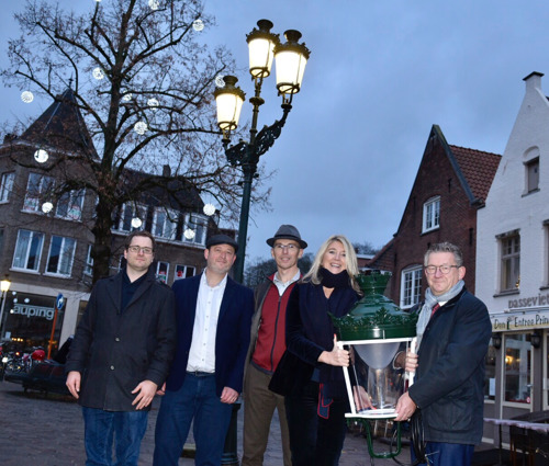 Stad Brugge en Fluvius vernieuwen 2700 'Brugse Lantaarns'