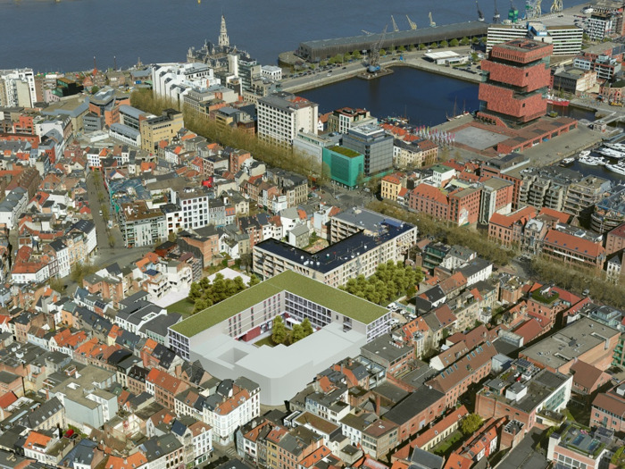 Partena opent nieuw kinderdagverblijf in Antwerpen centrum