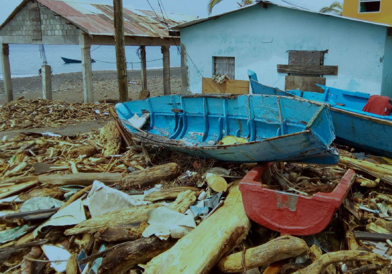 Fisheries sector in Dominica devastated by Hurricane Maria.
