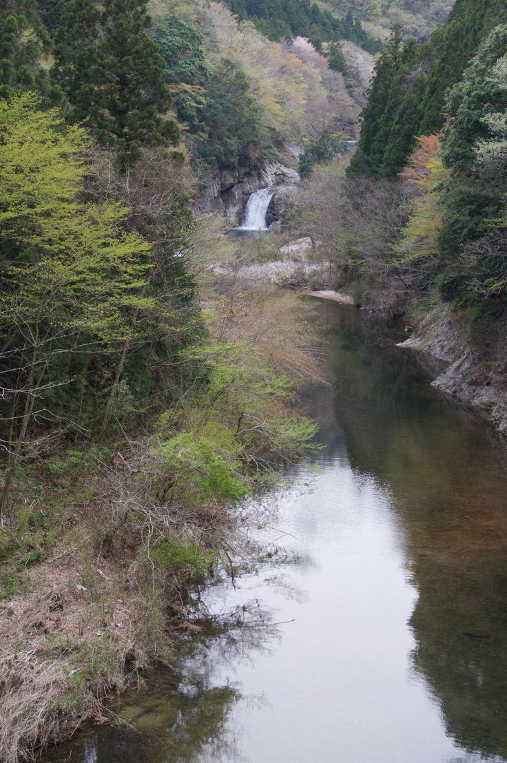 Stream and waterfall Fukushima