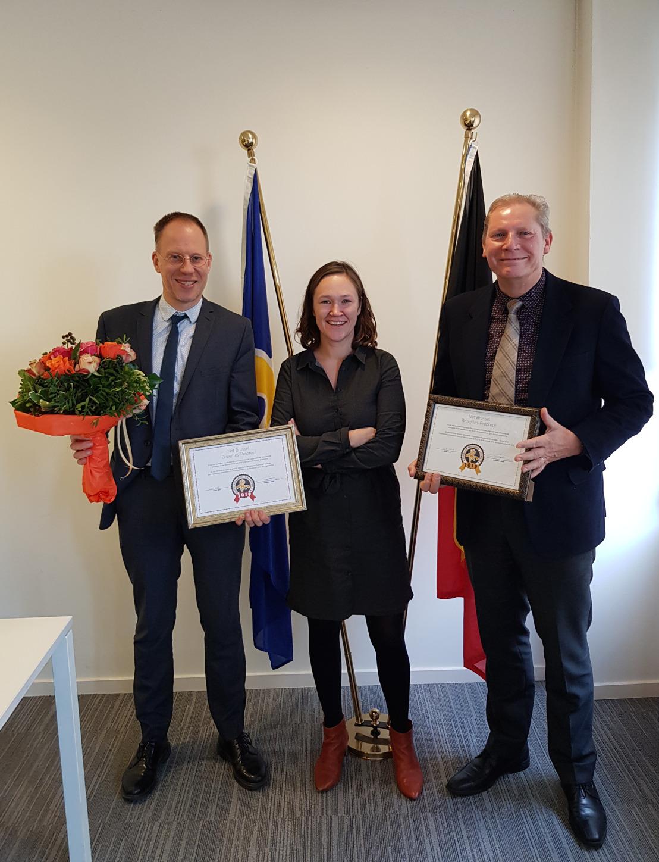 Bruxelles Propreté remporte un deuxième prix ABC