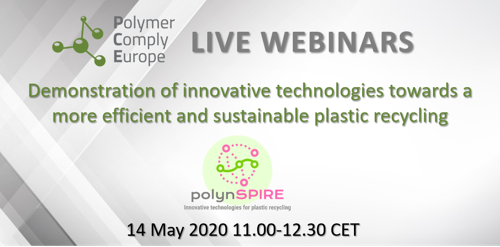 Meet the Speakers: Demonstration of innovative technologies towards a more efficient and sustainable plastic recycling - polynSPIRE