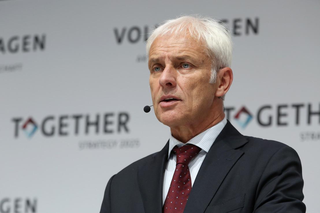 Nieuwe strategie: Volkswagen-groep wil uitgroeien tot wereldwijd toonaangevende aanbieder van duurzame mobiliteit