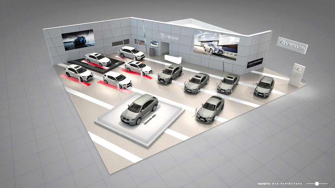 Lexus au salon de l'auto 2016