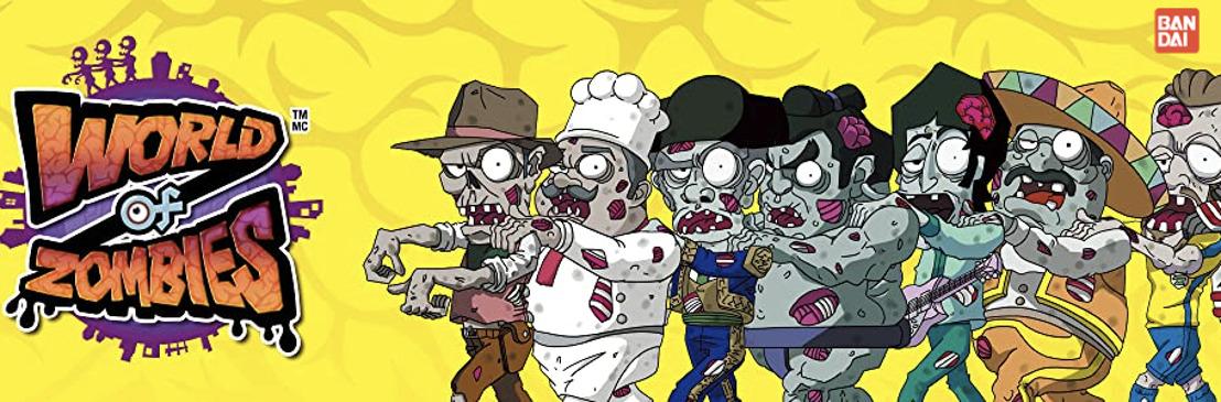 Bandai trae a México la invasión de World of Zombies
