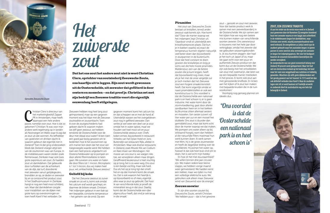 Glossy Zeeland magazine zet Zeeuwsche Zoute op de kaart