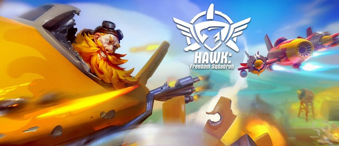 HAWK: FREEDOM SQUADRON- Erste Erweiterung veröffentlicht