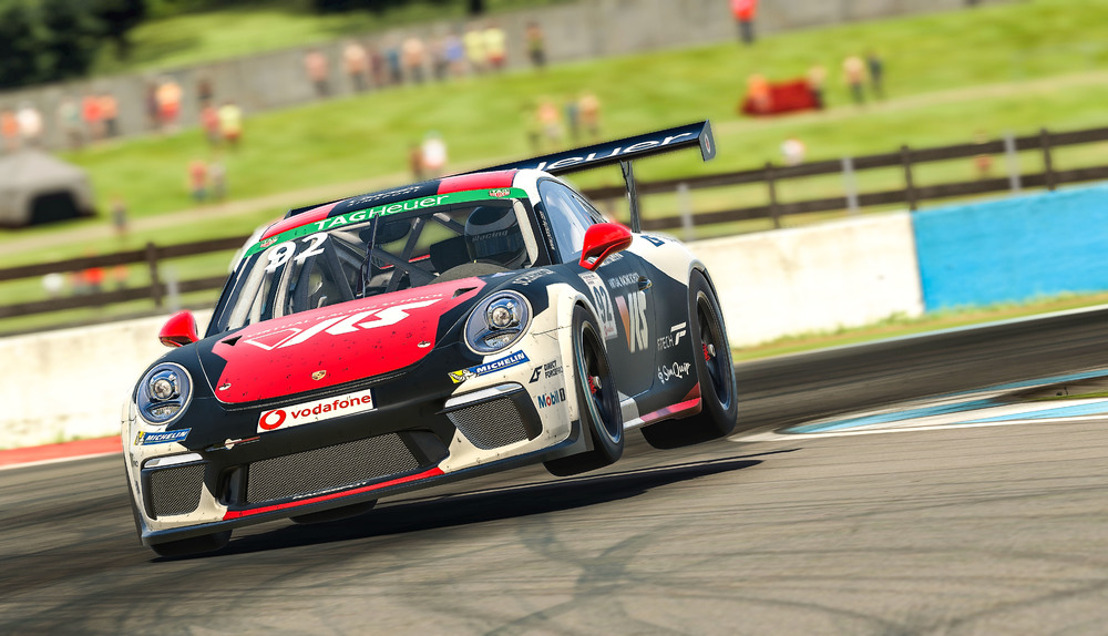 Porsche TAG Heuer Esports Supercup 2020, 3rd race day, Donington Park/Great Britain