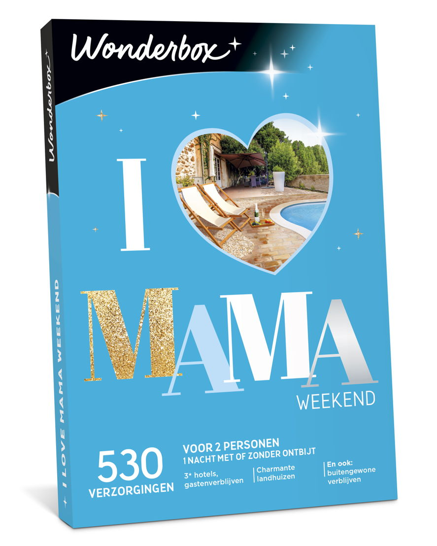 "Wonderbox ""I Love Mama Weekend"": €59,90"