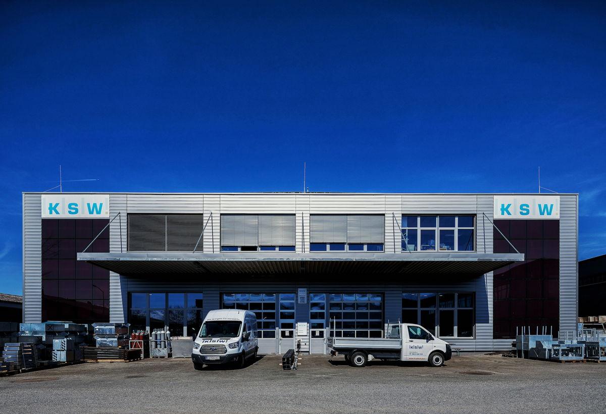 Firmengelände der KSW in Feldkirch