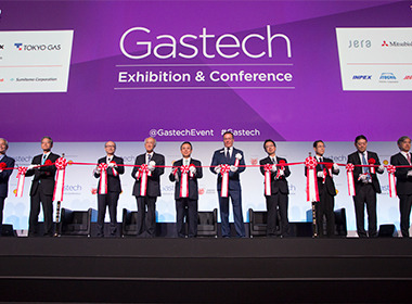 Gastech 2017 wins 'JNTO Best International Convention' award at the 28th International MICE Expo Japan.