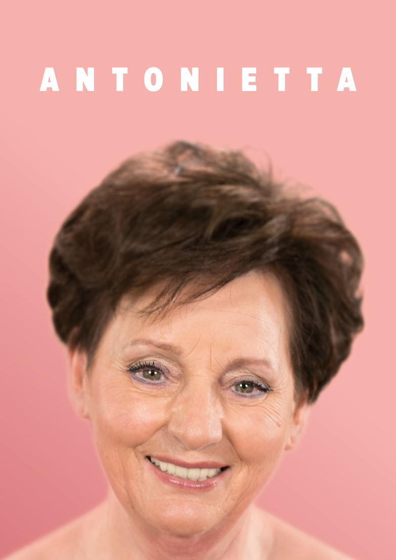 Antonietta, 72 jaar, weduwe.<br/>Maasmechelen.