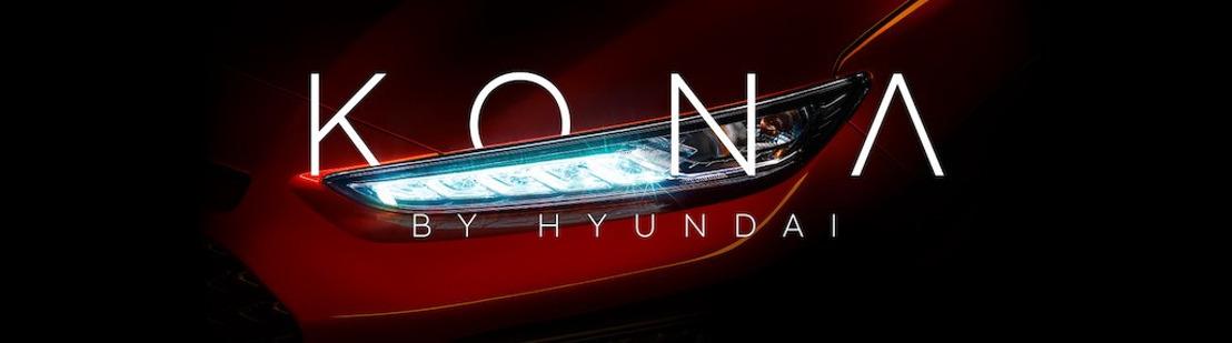 Hyundai breidt zijn SUV-familie uit met de nieuwe Hyundai Kona