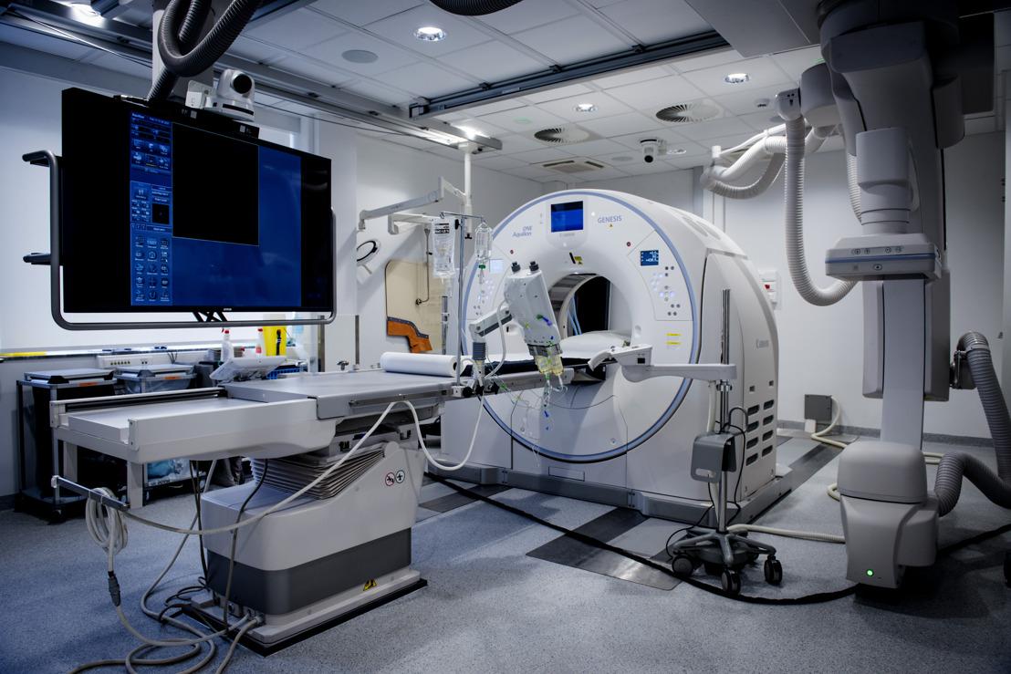 Une association exclusive d'angiographie et de tomodensitométrie à permet un diagnostic et un traitement plus rapides, plus ciblés et plus efficaces
