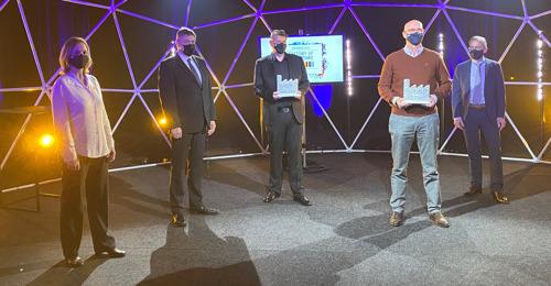 Preview: Le site de production Danone de Rotselaar reçoit le titre de « Usine du futur »