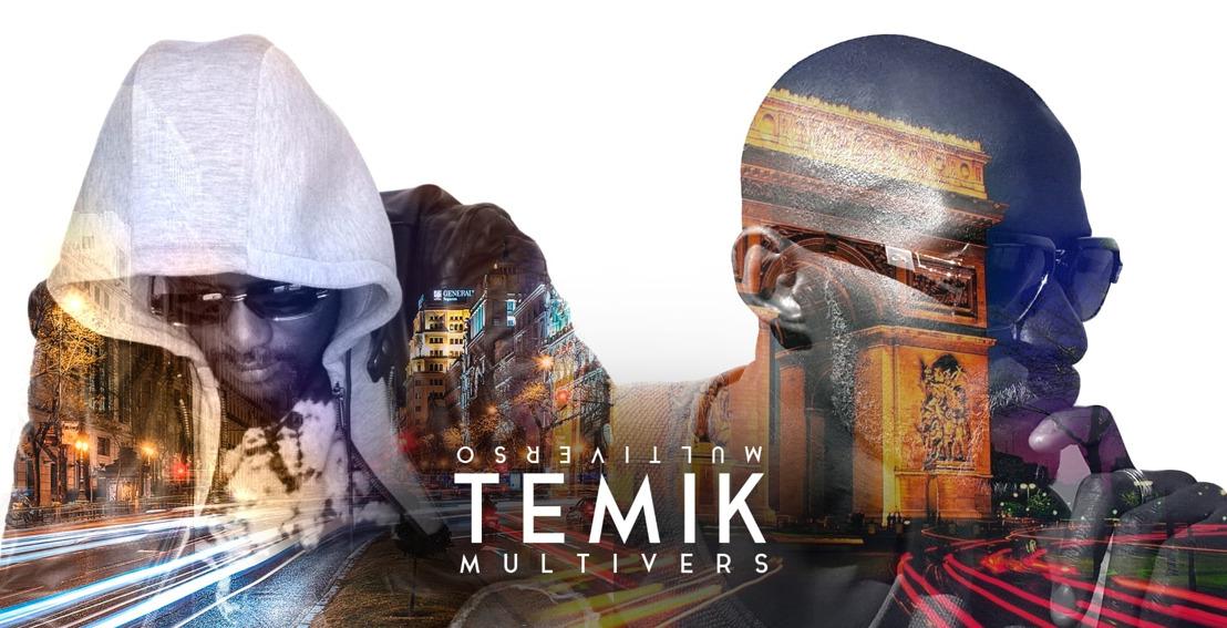 """TEMIK : Nouvel album """"Multivers"""", disponible le 21 février."""