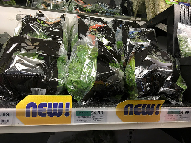 lēf Farms' lettuces are a New Hampshire favorite with Co-op customers