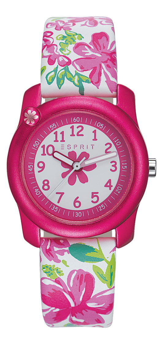 ESPRIT - Montre Tropical Flowers White Pink: 49€