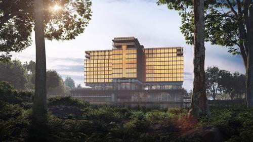 Transformation de l'ancien bâtiment de la Royale Belge