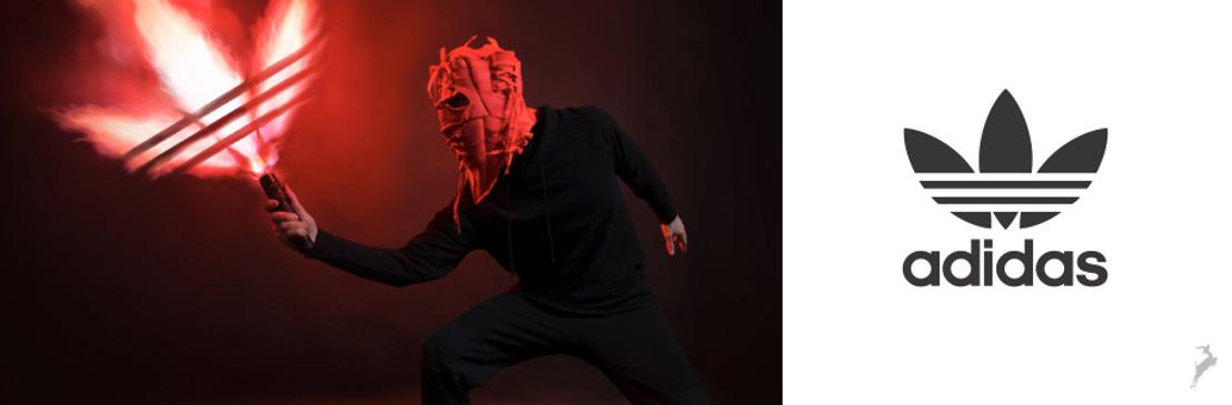 Adidas Originals presenta una innovadora exposición de máscaras y de arte digital hechos con sneakers